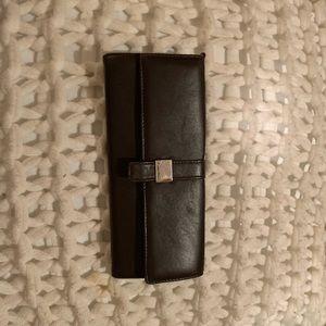 Handbags - Calvin Klein dark brown wallet
